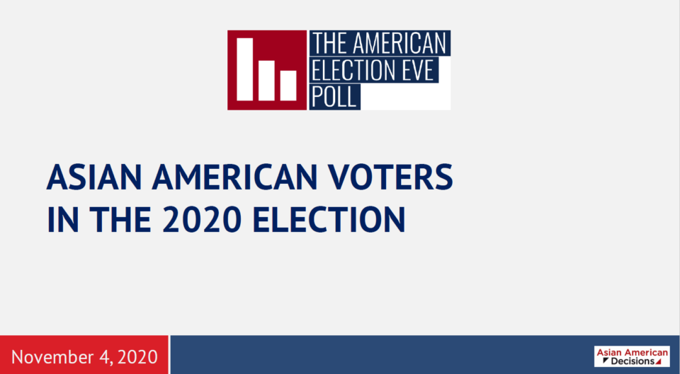 2020 AMERICAN ELECTION EVE POLL